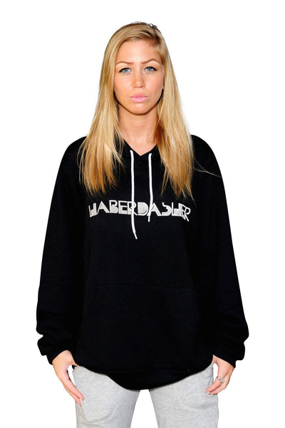 Women's Twisted Logo Hoodie - Haberdasher - Clothing Boutique