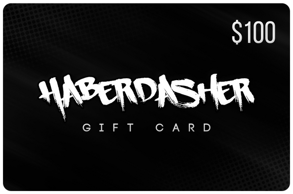 Gift Card - $100 - Haberdasher - Clothing Boutique