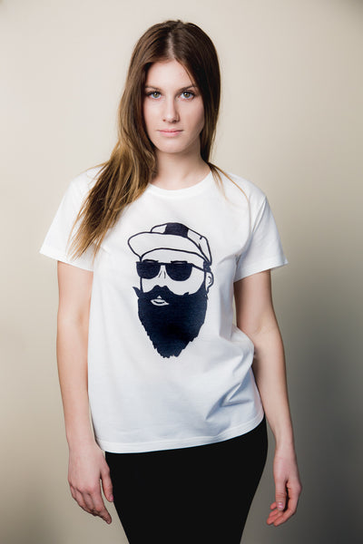 Women's Dude Face Tee - Haberdasher - Clothing Boutique