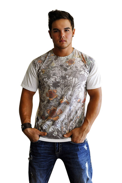 Wildwood Print Tee - Haberdasher - Clothing Boutique