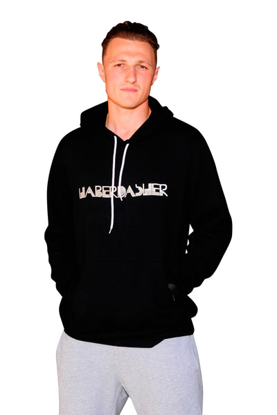 Twisted Logo Hoodie - Haberdasher - Clothing Boutique