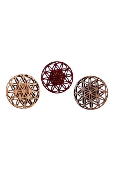Flower of Life Hat Pin - Haberdasher - Clothing Boutique