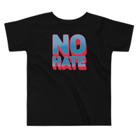 """No Hate"" Toddler T-Shirt (Blue)"