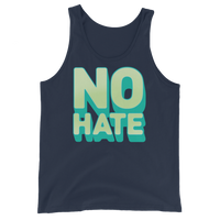"""No Hate"" Tank (Teal)"
