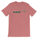 """I HATE LEO"" Green Banner T-Shirt"