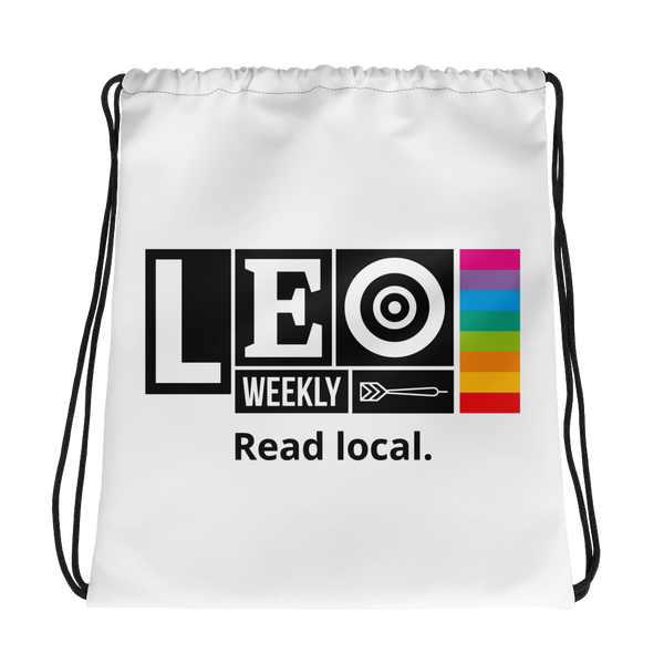 Colors of LEO Drawstring Bag