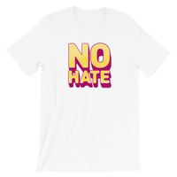 """No Hate"" T-Shirt (Yellow)"