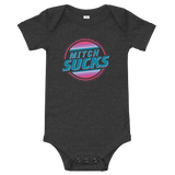 """Mitch Sucks"" Onesie"