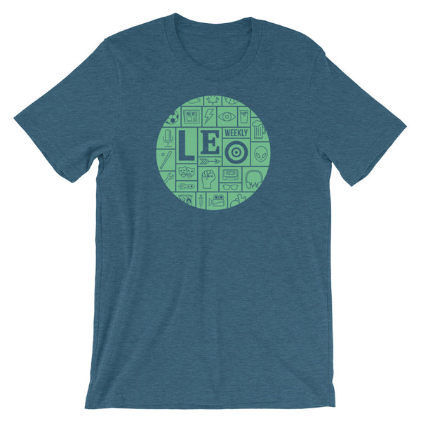 Green LEO Mosaic T-Shirt