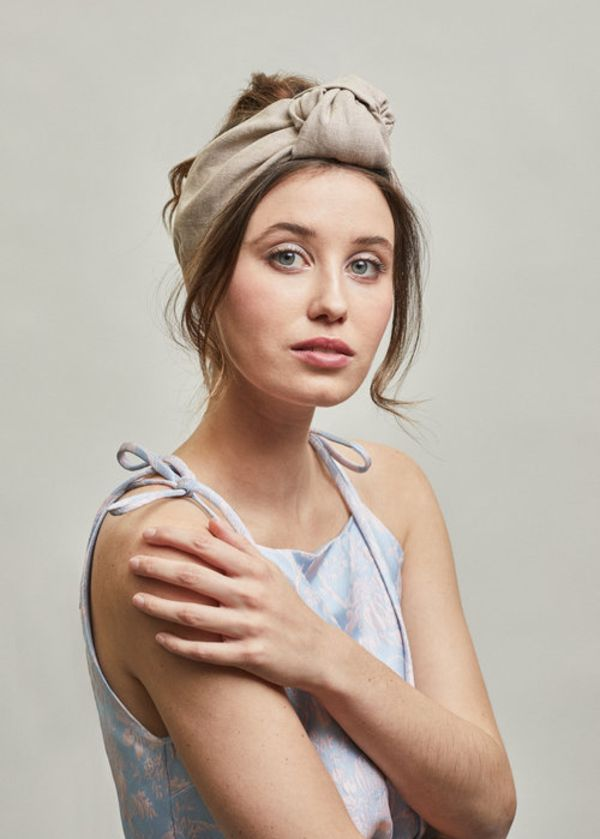 Bandeau Elsa par Heirloom Hats, lin