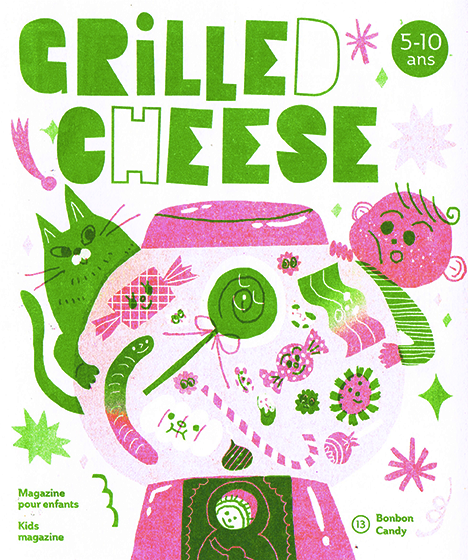 Magazine Grilled Cheese