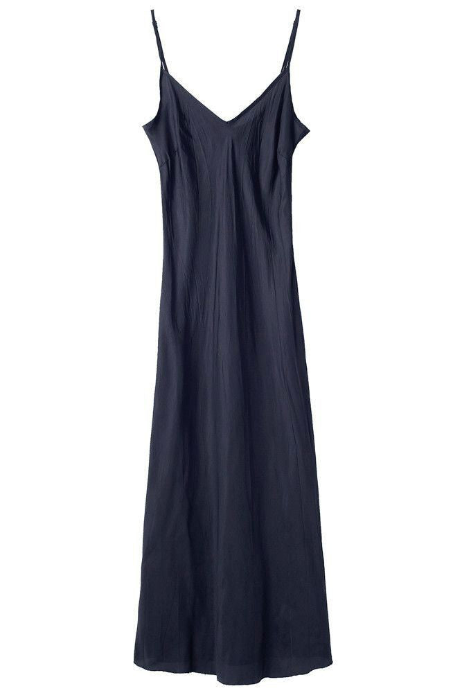 Navy Bias Long Slip Organic by John Patrick