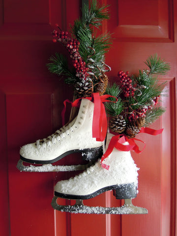Ice Skate Floral Arrangement from Creatively Southern