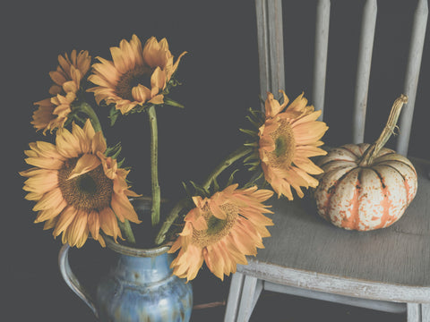 sunflower fall home decor