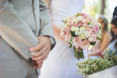 round bouquet style for wedding
