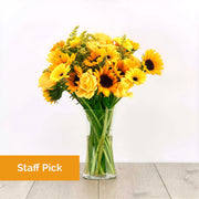 Yellow Mixed Bouquet