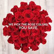 We Pick the Rose Colors, You Save