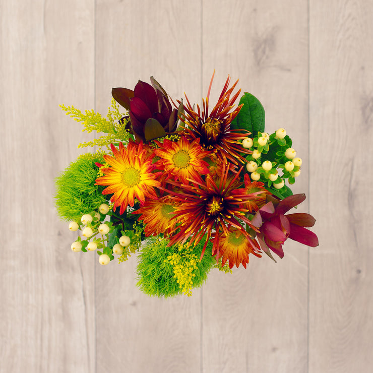 Fall Drive In New England Mixed Bouquet