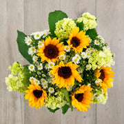 Hydrangea Sunflower Mixed Bouquet
