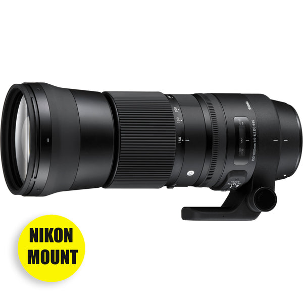 Sigma 150-600mm f/5-6.3 DG OS HSM CONTEMPORARY Lens for NIKON Rental