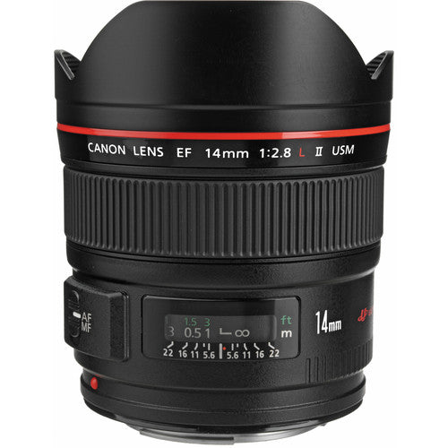 Canon EF 14mm F2.8 L II USM Rental
