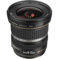 Canon EF-S 10-22mm F/3.5-4.5 USM Rental