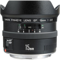 Canon EF 15mm F2.8 Fisheye Rental