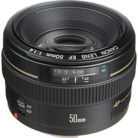 Canon EF 50mm F/1.4 USM Rental