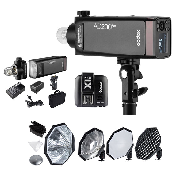 Godox AD200 PRO TTL Pocket Flash Kit Rental