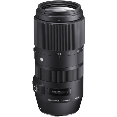 Sigma 100-400mm f/5-6.3 DG OS HSM Contemporary Lens for Canon EF Rental