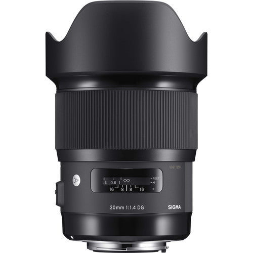 Sigma 20mm f/1.4 DG HSM Art Lens for Canon EF Rental