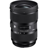 Sigma 24-35mm f/2 DG HSM Art Lens for Canon EF Rental