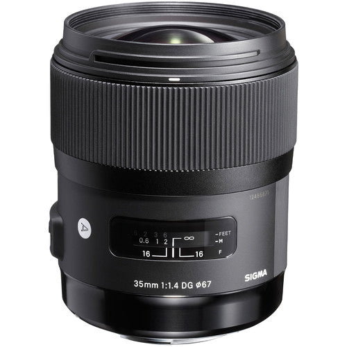 Sigma 35mm f/1.4 DG HSM Art Lens for Canon EF Rental