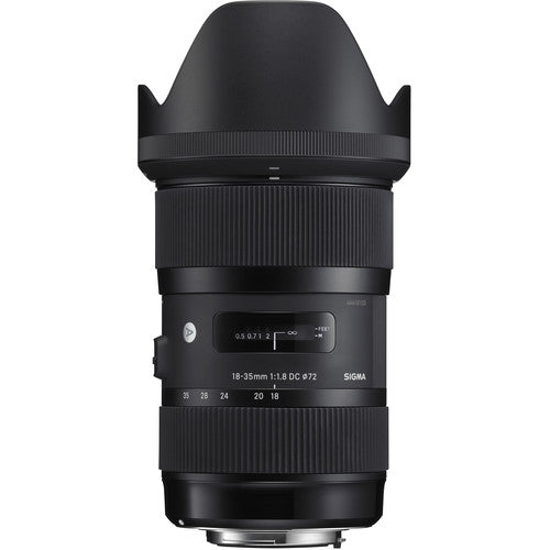 Sigma 18-35mm f/1.8 DC HSM Art Lens for Canon EF-S Rental