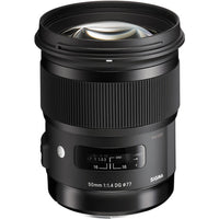Sigma 50mm f/1.4 DG HSM Art Lens for Canon EF Rental