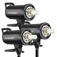 Godox SK300II 3-Light Studio Flash Kit Rental
