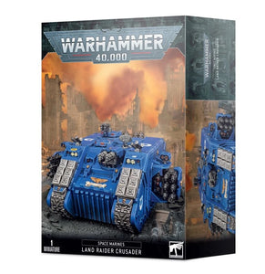 Space Marines Land Raider Crusader