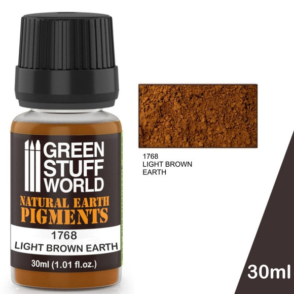 Pigment Light Brown Earth 30ml
