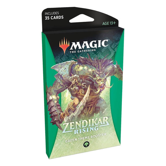 Zendikar Rising - Theme Booster Green (ENG)