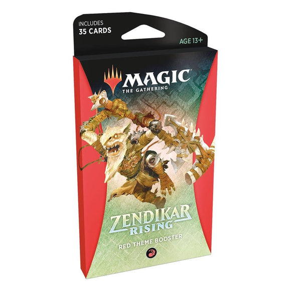 Zendikar Rising - Theme Booster Red (ENG)