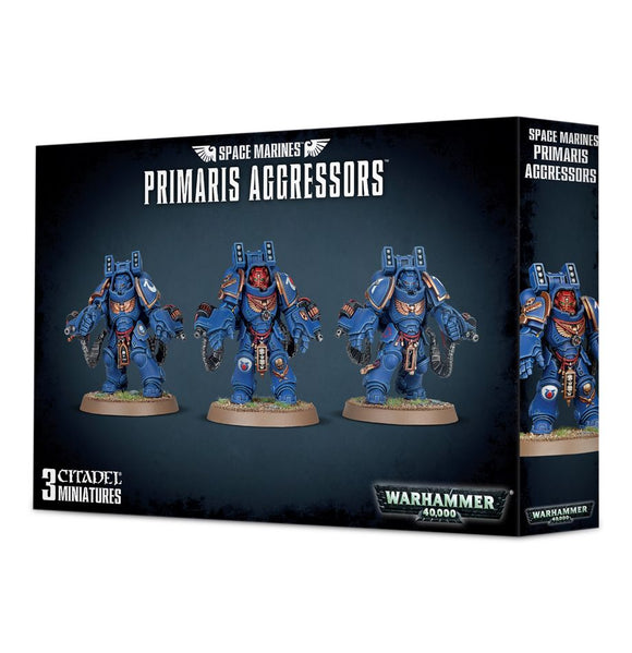 Space Marines Primaris Aggressors