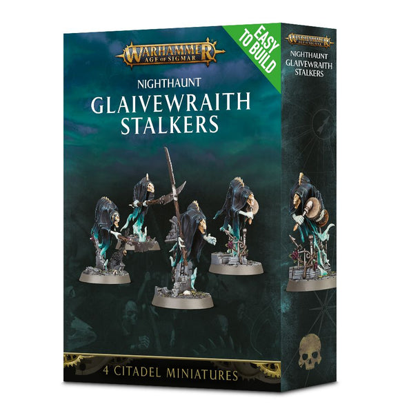 Nighthaunt Easy to Build Glaivewraith Stalkers