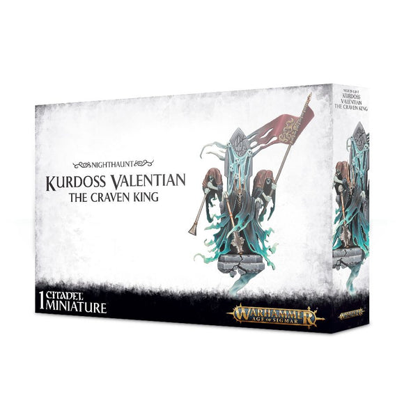 Nighthaunt Kurdoss Valentian, The Craven King