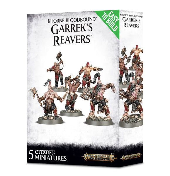 Khorne Bloodbound Easy To Build: Garrek's Reavers
