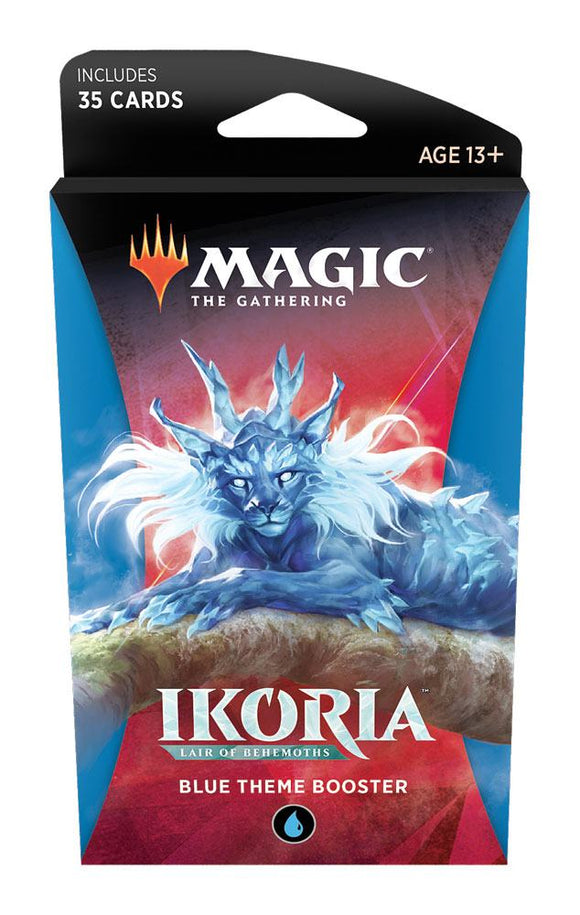 IKORIA Lair of Behemoths Theme Booster Blue (ENG)