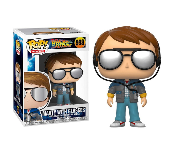 Back to the Future - Marty with Glasses #958