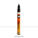 160 SIGNAL WHITE Marker Molotow 127HS-EF - 1mm