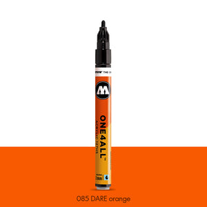 085 DARE ORANGE Marker Molotow 127HS - 2mm