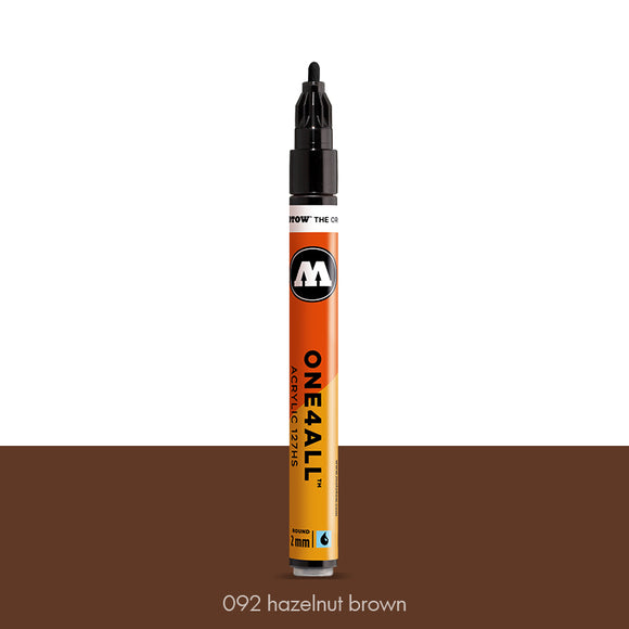 092 HAZELNUT BROWN Marker Molotow 127HS - 2mm