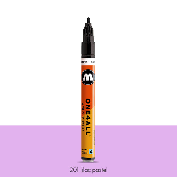 201 LILAC PASTEL Marker Molotow 127HS - 2mm